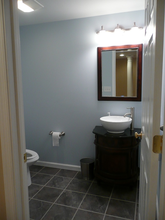 bathrooms acc finished basement remodeling montgomery bucks